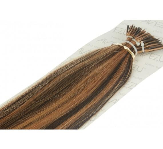 Stick hair äkta Löshår 20 slingo 1 Gram - Välj färg