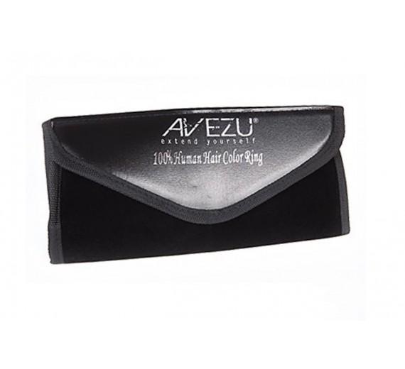 Avezu Färgkarta - hårförlängningar i alla vanliga färger.