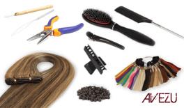 Hair extensions startpakke - Easy weft extensions - 120 gram hår