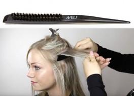 Avezu dressingborste - Stylingborste för toupering och styling