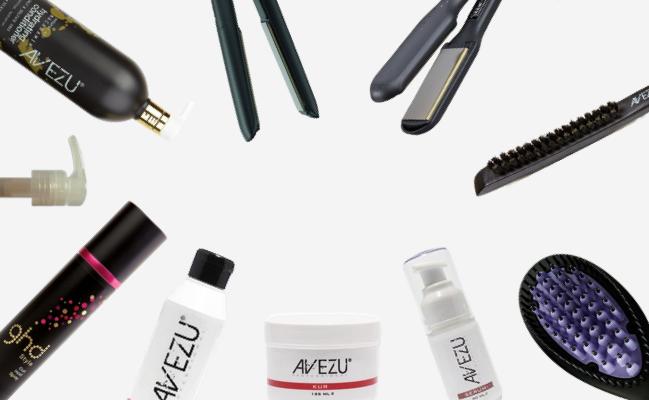 vårdprodukter till ditt hår Avezu